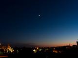 La Luna, Júpiter y Venus.