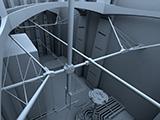 Escenario industrial para cortometraje.